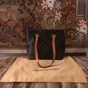 Authentic Louis Vuitton LV Cabas Piano Tote Bag